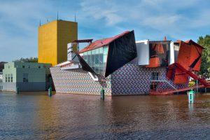 Groninger Museum dichtbij camping de veenborg